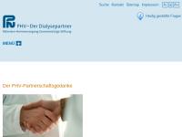 PHV - Der Dialysepartner Patienten-Heimversorgung