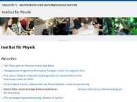 University of Oldenburg - Department of Physics