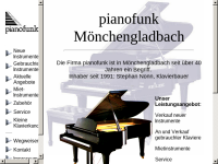 Pianofunk Instrumentenhandel, Inhaber Stephan Nonn