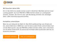 Piratenpartei Deutschland, Landesverband NRW