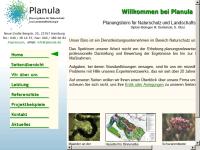 PLANULA Planungsbüro für Naturschutz und Landschaftsökologie, Inh. Dipl.-Biologen M. Dembinski & G. Obst