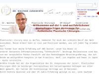 Dr. Walther Jungwirth, Facharzt für ästhetische Chirurgie