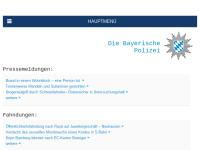 Aktivitäten der Bayerischen Polizei im Internet