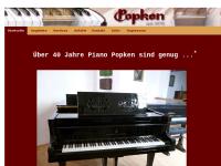 Paul Popken, Klavierbaumeister
