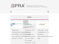 Gesellschaft Public Relations Agenturen e.V. (GPRA)