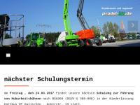 Pradel Arbeitsbühnen GmbH