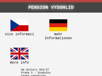 Pension Vysohlid