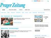 Tschechien, Prager Zeitung online