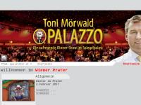 Der Prater in Wien, die Welt der Unterhaltung