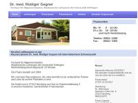 Dr. med. Rüdiger Gegner - Facharzt für Allgemeinmedizin