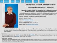 Dr. med. Manfred K. Hechler