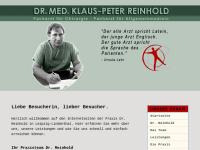 Reinhold, Dr. med. Klaus-Peter