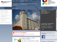 Slowakei, deutsche Botschaft in Bratislava