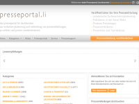Presseportal.li - tomschaepper. Est. – marketing. public relations