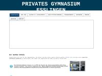Privates Gymnasium Esslingen