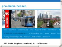 PRO BAHN e.V. Regionalverband Mittelhessen