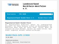 PRO BAHN Regionalverband Niederrhein e.V.