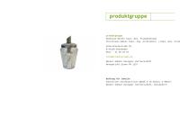 Produktgruppe - Dipl.-Des. Matthias Becker und Dipl.-Ing. Dipl.-Des. Christiane Hübner