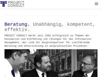 Project Consult Unternehmensberatung Dr. Ulrich Kampffmeyer GmbH