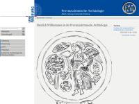 Abteilung für Provinzialrömische Archäologie der Universität Freiburg