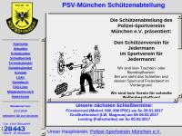 Schützenabteilung des Polizeisportverein München