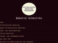 Psychologische Beraterin Babette Schmittke