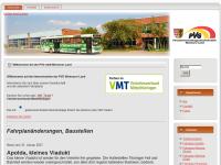 Personenverkehrsgesellschaft mbH Weimarer Land, Apolda