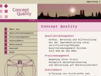Concept Quality - Inh. Yvonne Bredenkötter