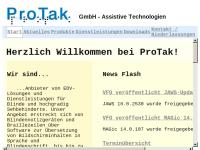 ProTak GmbH - Assistive Technologien
