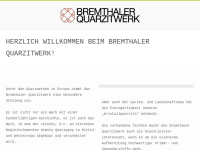 Bremthaler Quarzitwerk GmbH