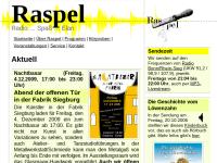 Radiowerkstatt Raspel