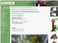Matthias Rau GmbH. Land-, Forst-, Kommunaltechnik