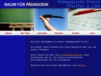 Raum für Pädagogik - Pädagogische Praxis V. Pfeuffer und J. Löhe