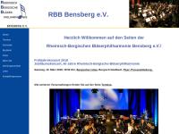 Rheinisch-Bergische Bläserphilharmonie Bensberg e.V.