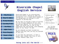 Riverside Chapel English Service