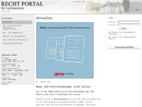 Liechtensteiner Rechtportal - GMG Verlag AG