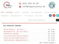 RegioColonia e.V. - Führungen in Köln und Umland