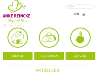 Anke Reincke, Häusliche Krankenpflege und Seniorenbetreuung