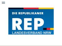 Die Republikaner (REP), Landesverband Nordrhein-Westfalen