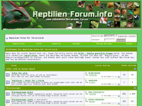 Das ultimative Terraristik Forum