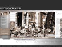 Restauration 1900