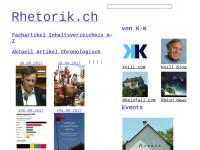 rhetorik.ch aktuell
