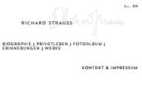 Richard Strauss online