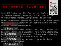 Motorrad Richter