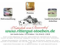 Rittergut Stöben - Inh. Familie Sachse