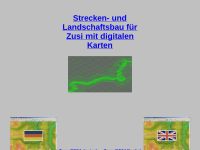 Strecken- und Landschaftsbau für Zusi mit digitalen Karten