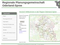 Regionale Planungsgemeinschaft Oderland-Spree