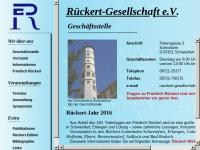 Rückert Gesellschaft e.V.