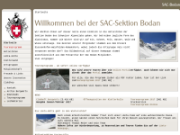 SAC Sektion Bodan