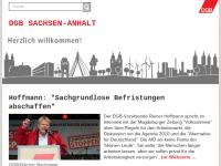 Deutscher Gewerkschaftsbund [DGB] - Landesverband Sachsen-Anhalt